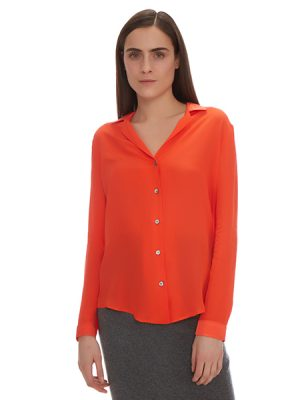 LOUISA SILK BLOUSE MAISON DE PAPILLON
