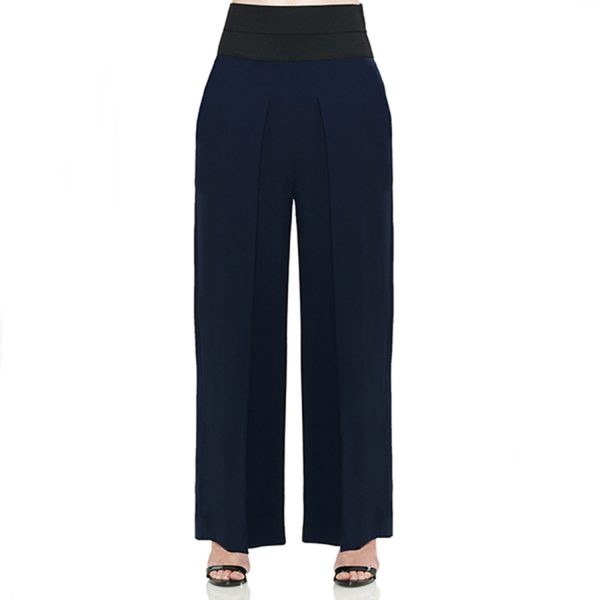 High Waisted Georgette Pant