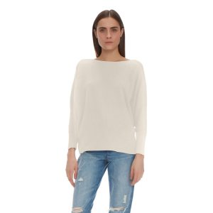 PAPILLON LONGSLEEVE CASHMERE PULLOVER