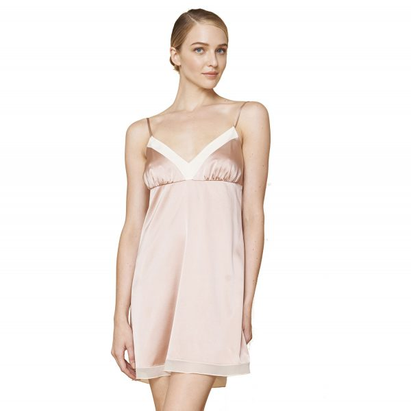 MARILYN SILK CHARMEUSE DRESS