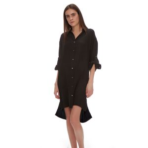 IRIS SILK SHIRT DRESS