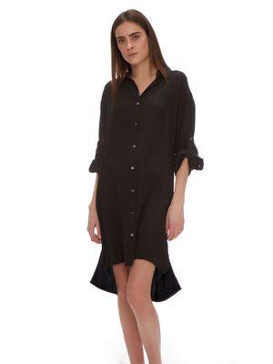 IRIS SILK SHIRT DRESS