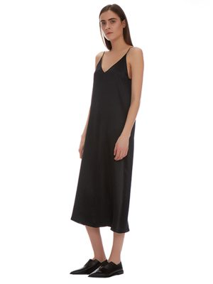 GIGI SILK A LINE DRESS