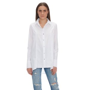 CHIARA PLEATED LONG SLEEVED SHIRT