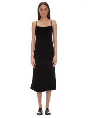 BELLA VELVET SLIP DRESS