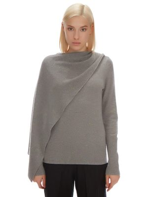 PARKER CASHMERE SCARF SWEATER