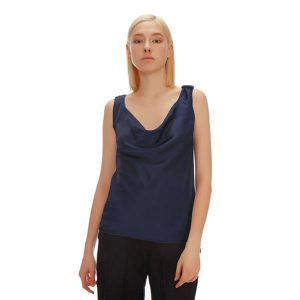 MONA COWL NECK REVERSIBLE TOP