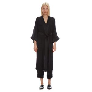 SLOAN ROBE SILK GEORGETTE ANKLE LENGTH